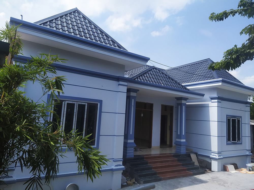 Chi phí xây nhà cấp 4 5 gian tại Hà Nội chỉ 800 triệu