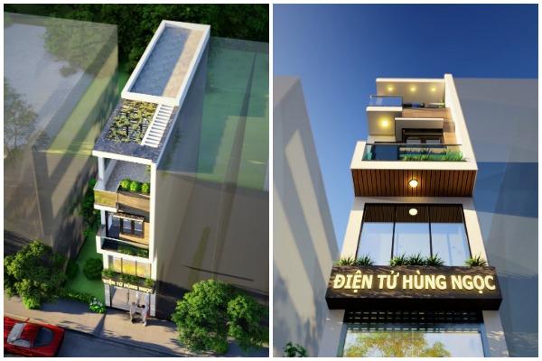 Nhà phố 3 tầng có gác lửng tại Phương Canh Nam Từ Liêm - Kiều Đăng Hùng