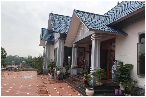 Xây biệt thự vườn 1 tầng 200m2 tại Bắc Ninh