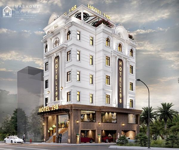 Thiết kế khách sạn anh Hoan