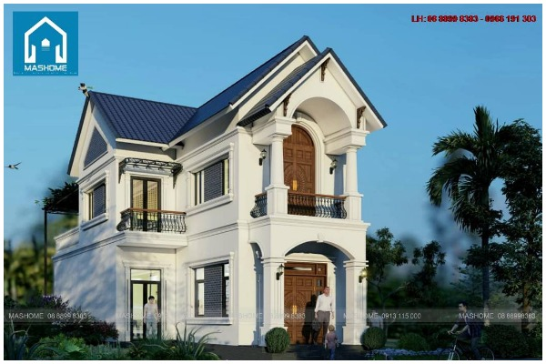 Công trình biệt thự 2 tầng nhà anh Hạ từ thiết kế đến thi công