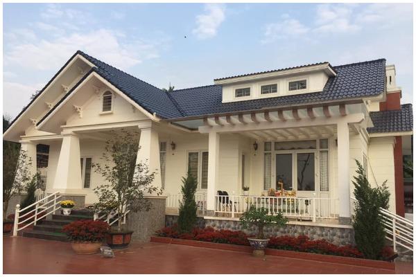 Mẫu nhà 1 tầng mái thái nông thôn khiến ai cũng bị mê hoặc chỉ 900 triệu