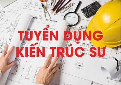 Tuyển 1 Chủ trì Thiết kế - Kiến trúc sư