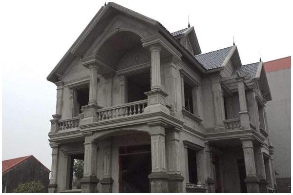Xây biệt thự 2 tầng tại Bắc Giang giá rẻ vạn người mê