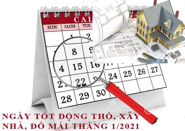 Xây nhà năm 2021 tháng nào tốt?